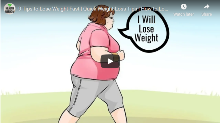 9 Tips to Lose Weight Fast | Quick Weight Loss Tips | How to Lose Belly Fat