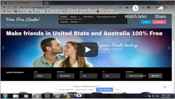 100% Free Dating - Find perfect Single match in United State - Smart Dating Site - 2021
