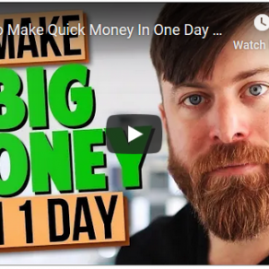 How To Make Quick Money In One Day Online!