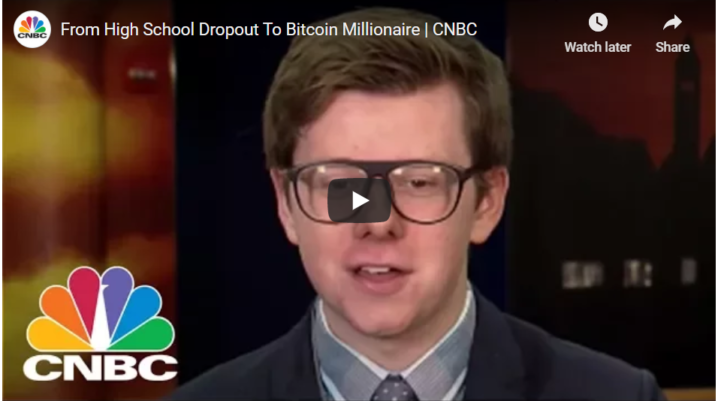 From High School Dropout To Bitcoin Millionaire | CNBC